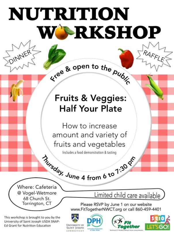 Snap-ed workshop flyer - English