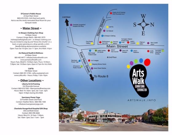 Arts Walk Brochure 2  6-1-15