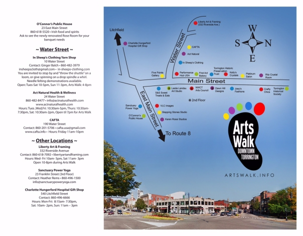 Arts Walk Brochure 2  6-1-15