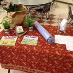 Raffle promoting healthy eating and active living